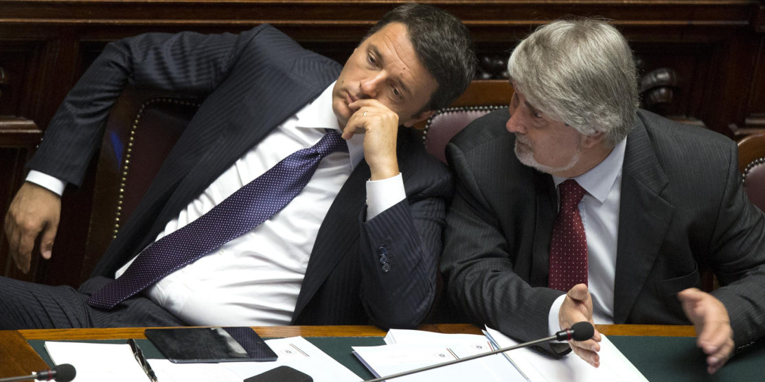 Renzi's speech at the Italian Parliament