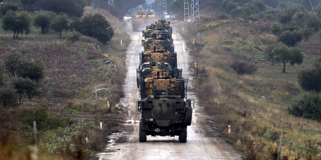 Forces-attacks-the-camps-of-Turkish-military-in-Afrin-4