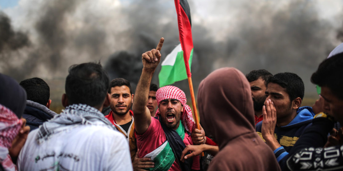 "The ""Great Return March"" in Gaza"