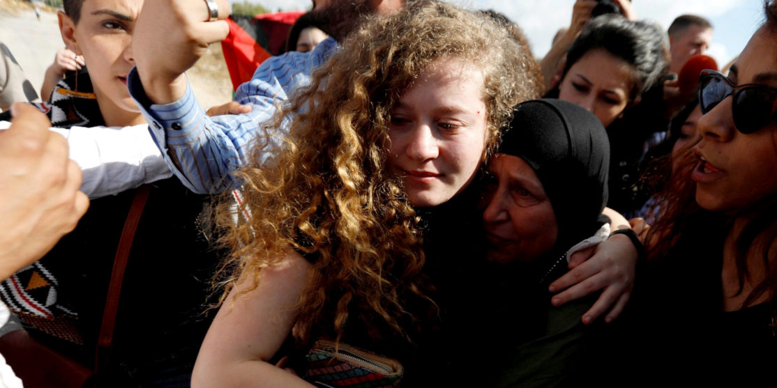 Ahed-Tamimi-released