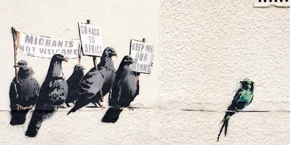 1412279125924_Britain_Banksy_rain