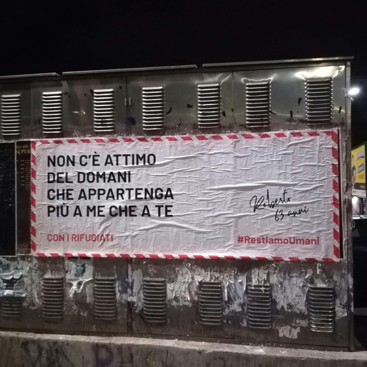 Cartoline sui muri di Roma