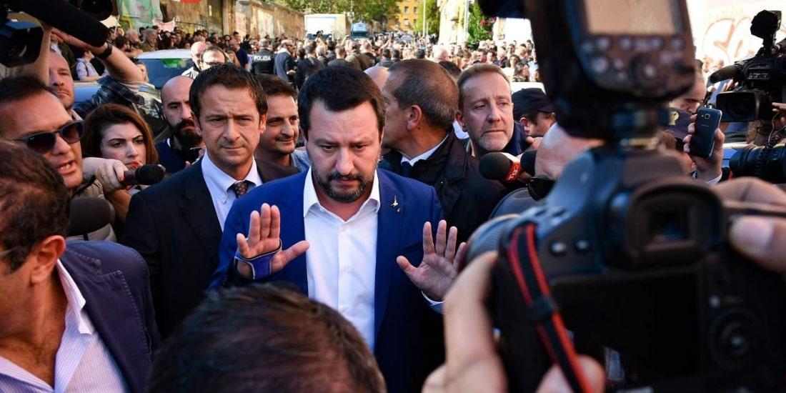 Salvini a San Lorenzo