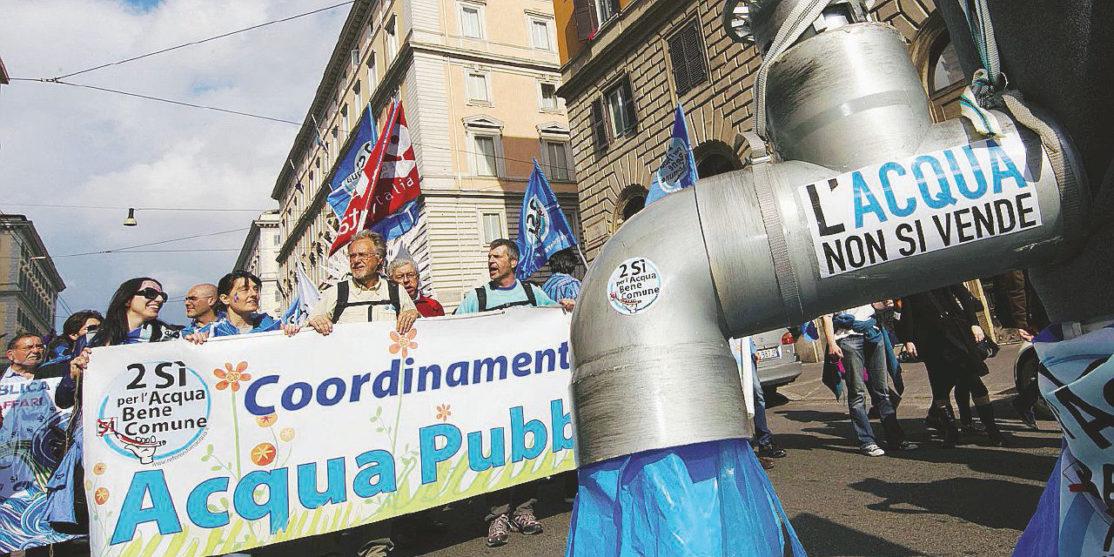 ACQUA: CORTEO PER 'DUE SI' A REFERENDUM'