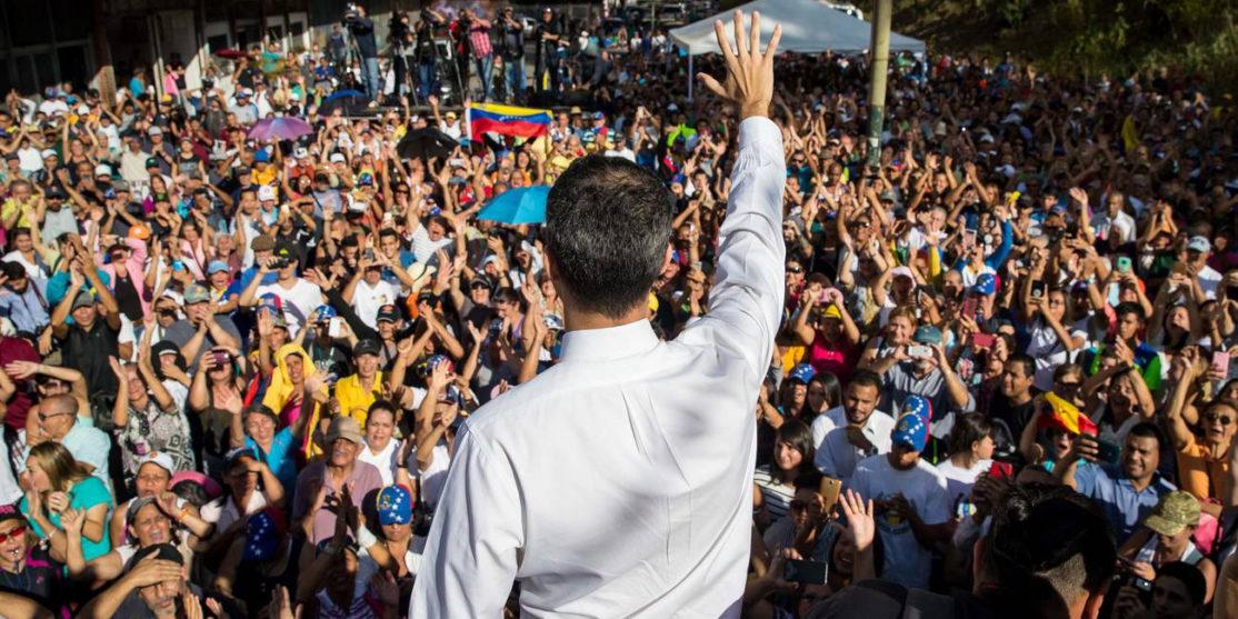 Juan-Guaidò-si-è-autoproclamato-presidente-pro-tempore-del-Venezuela