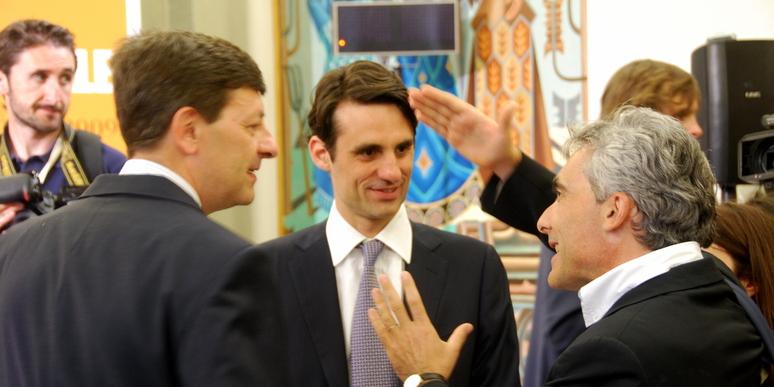 Vittorio Colao, Andrea Prat e Tito Boeri