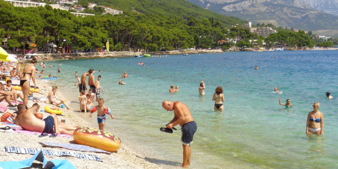Brela_-_plaža_Punta_rata_(istok)