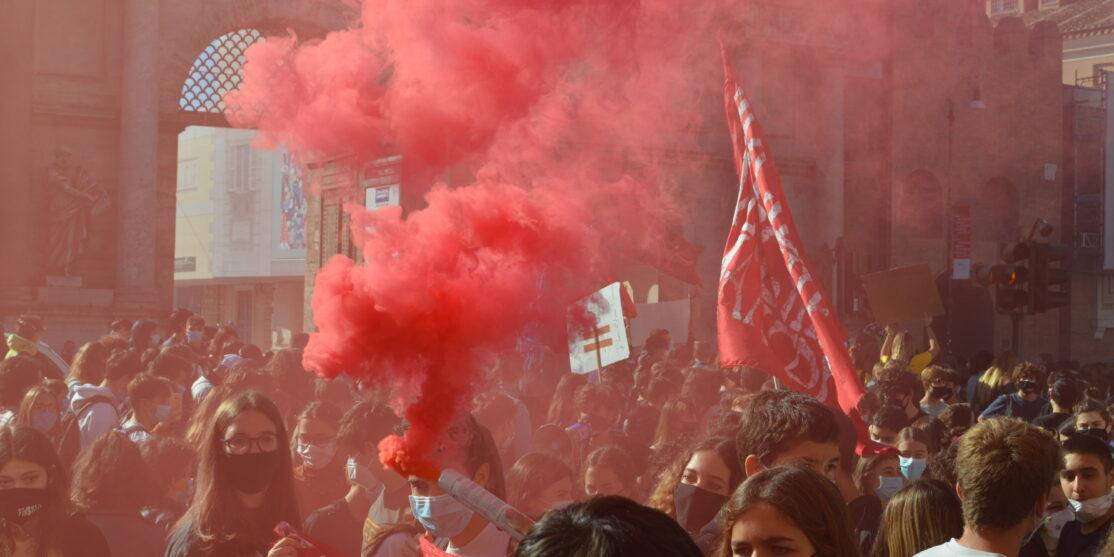 fridays for future_roma_sciopero del clima_9 ottobre 2020