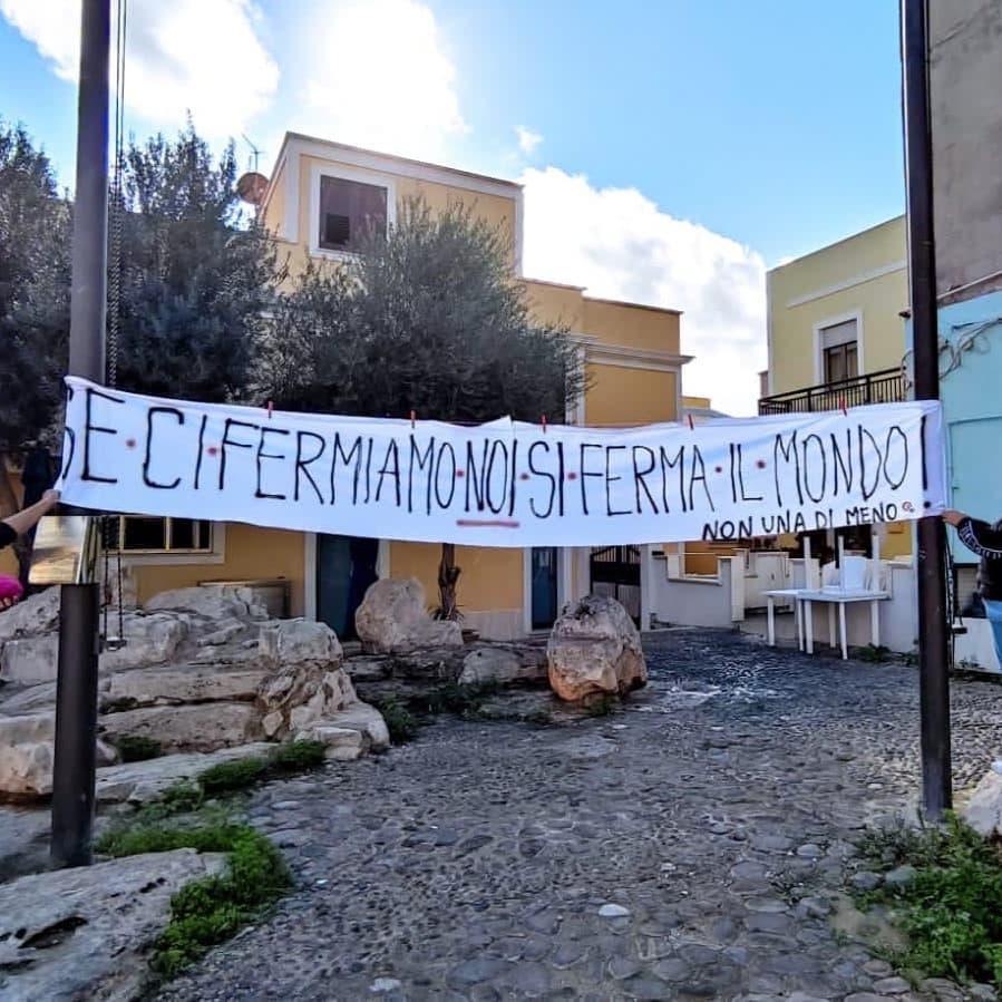 Non Una di Meno Lampedusa
