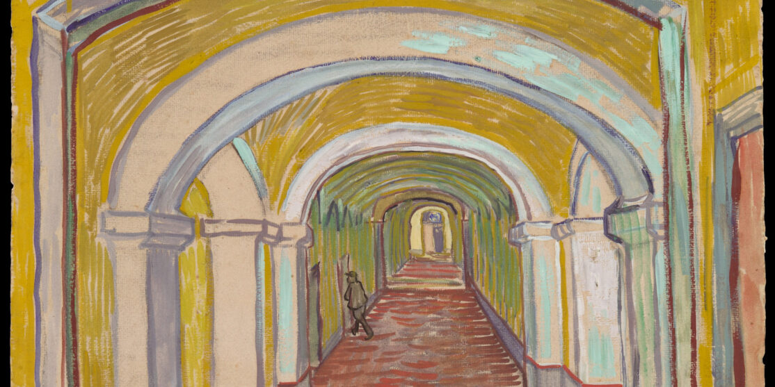 van gogh corridor in the asylum bis