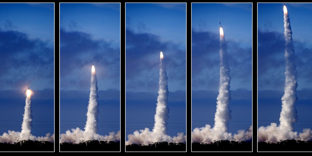 rocket launch sequence by rendy merrill on flickr