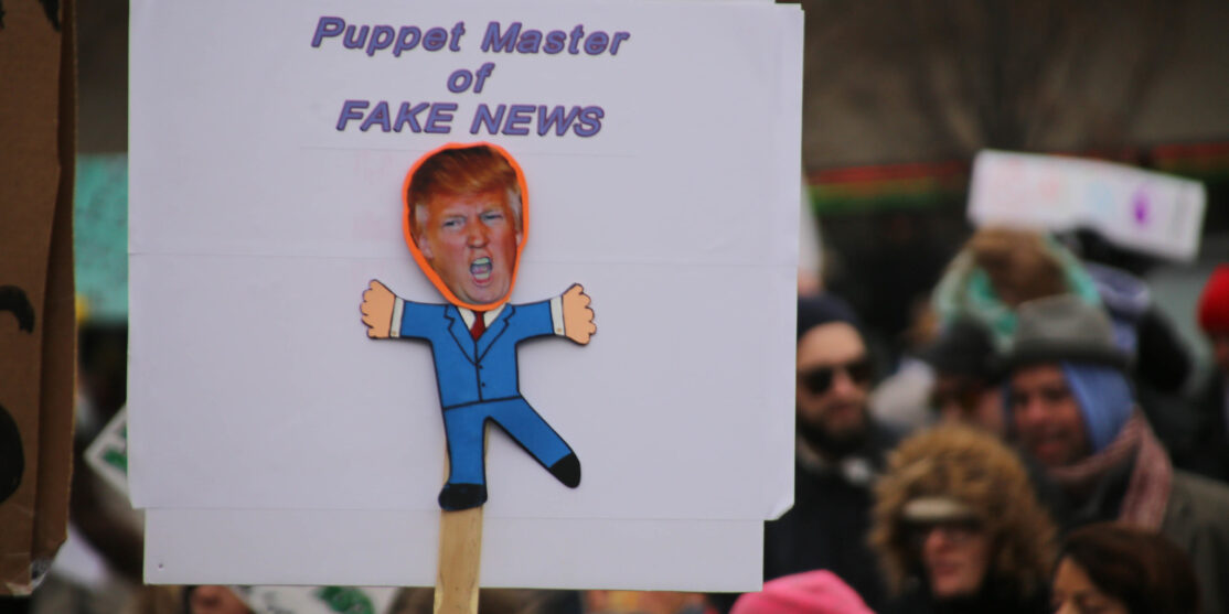 trump fake news flickr