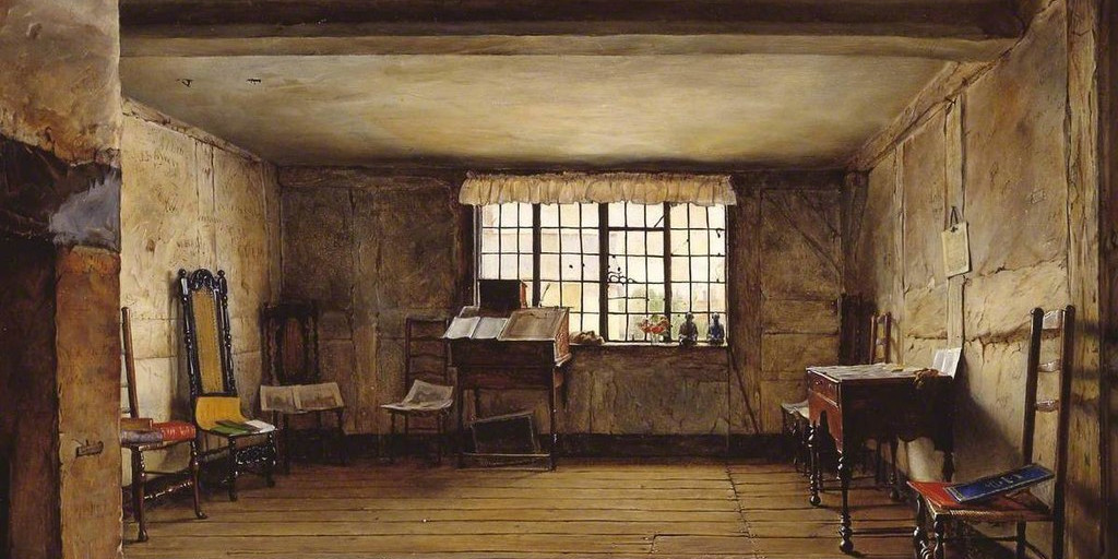 Henry Wallis – The room in which Shakespeare was born