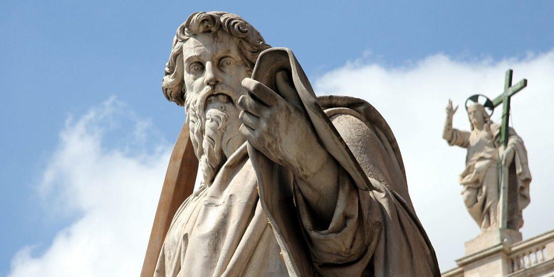 File source: https://commons.wikimedia.org/wiki/File:Vatican_StPaul_Statue.jpg