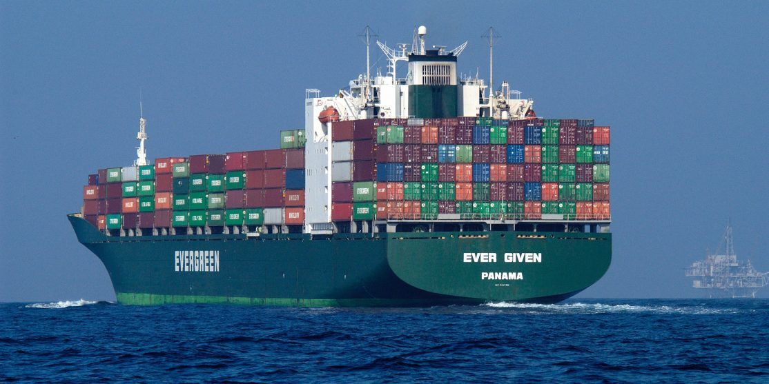 container ship flickr