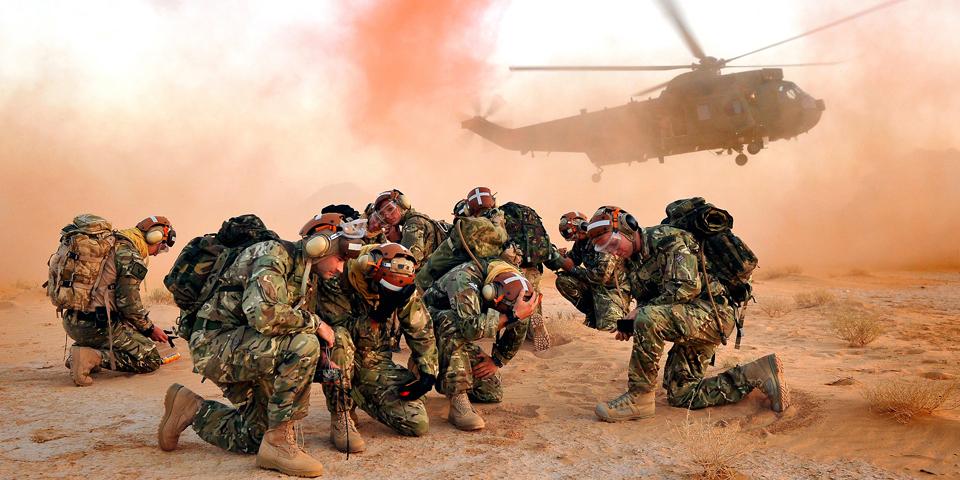 845 Naval Air Squadron take part in Exercise Pashtun Commando 13