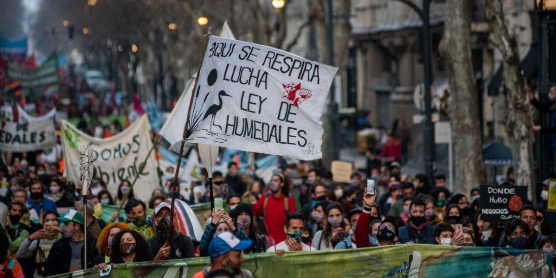 marcha ley de humedales multisectorial